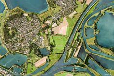 Beegden the Netherlands, urban pattern, Google-earth-view-2007