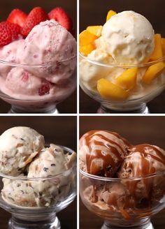 Estes quatro sorvetes vão fazer você ter dificuldade de escolher o…