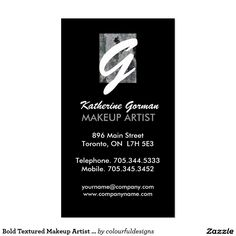 Beauty Business Cards, Makeup Artist Business Cards, Salon Business, Salons, Create Your Own, Card Making, Things To Come, Prints, Color