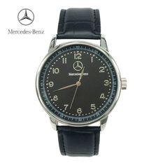 [FREE] Benz Quartz Watch Luxury Brand Mercedes Watch Men Waterproof Fashion…