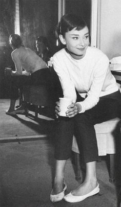 *Iconic Audrey Hepburn, classic, timeless style*
