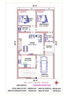 2bhk House Plan, Free House Plans, Simple House Plans, Beautiful House Plans, Model House Plan, Duplex House Plans, Duplex House Design, Family House Plans, Bedroom House Plans
