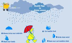 Health tips during #Rainyseason.