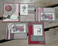 Christmas in July  Handmade Christmas Cards  by saltonscovestudio, $15.00