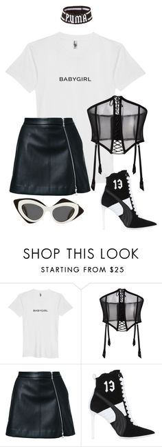 """FENTY PUMA STYLING"" by mimiih on Polyvore featuring FOLIES BY RENAUD, Guild Prime, Puma, Prabal Gurung, parabalgurung and fentyxpuma"
