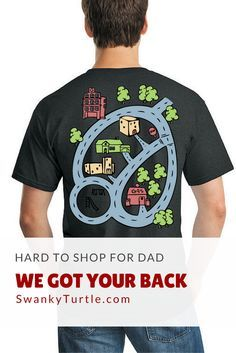 8053da0b8 Kids. Car. Dad. BackTrack T-shirt. A gift for the 2 people you love the  most!