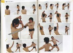 Real Action Pose Collection Vol. 2 - Sword Fighting