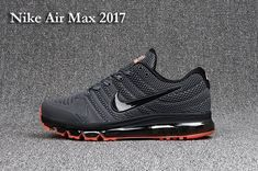 New Nike Air Max 2017 Men Carbon Grey