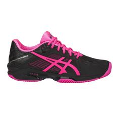 Asics+Gel-Solution+Speed+3+Clay+black/hot+pink/silver