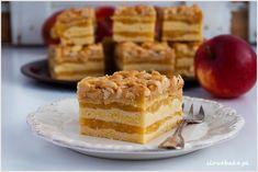 Szarlotka orzechowa - I Love Bake Tiramisu, Waffles, Pie, Baking, Breakfast, Ethnic Recipes, Torte, Morning Coffee, Cake