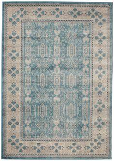 Zaina - Blau Teppich RVD11407