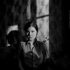 Katerina Dmitrieva. January. Minsk 2012  Yashica D. Ilford HP5