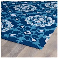 Add an old world coastal feel with the classic color palette of navy blue and white tiled pattern on this Navy Blue Old World Tiles Rug. Kaleen Rugs, Cheap Rugs, Indoor Outdoor Area Rugs, Throw Rugs, Cool Rugs, Rugs Online, Blue Area Rugs, Old World, Kids Rugs