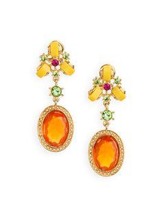 topaz earrings - want