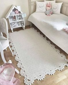 Big crochet rug round area rug 118 in doily rug yarn lace mat cottage nursery carpet rustic floor decor by lacemats Big crochet rug round area rug 115 in doily rug yarn laceHardwood Flooring Trim Ideas, Laminate Hardwood Flooring Ideas and Pics of Living Crochet Diy, Crochet Home, Crochet Crafts, Crochet Doilies, Crochet Rugs, Diy Crafts, Tapete Doily, Crochet Rug Patterns, Crochet Carpet