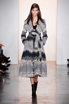Peter Som shawl coat  http://www.refinery29.com/fall-fashion#slide36  Peter Som