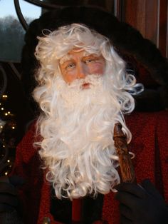 life size Father Christmas face