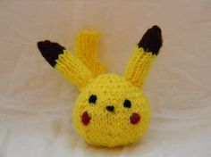 Little Pikachu Ball by ElaynaBKnits on Etsy, $5.00