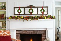 Follow these simple instructions--from Cal Crary, FlowerSchool New York--to build a handsome holiday garland made of magnolia leaves and juniper. | thisoldhouse.com