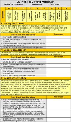 21 Problem solving Worksheet Template Problem Solving Method with Excel template The children can enjoy Number Worksheets, Math Worksheets, Alphabet Worksheets, . Visual Management, It Service Management, Change Management, Business Management, Strategic Planning, Lean Six Sigma, Business Analyst, Business Education, Problem Solving