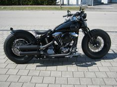 Harley-Davidson | Bobber Inspiration - Bobbers and Custom Motorcycles | sorprendimicomenessuno August 2014