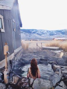 Hot springs, Oregon