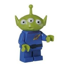 Black Friday 2014 Alien - LEGO Toy Story Minifigure from LEGO Cyber Monday. Black Friday specials on the season most-wanted Christmas gifts. Lego Toy Story, Toy Story Figures, Toy Story Theme, Toy Story Alien, Lego People, Lego Man, Lego Minifigs, Green Toys, Cool Lego Creations