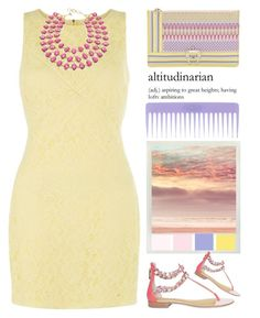 """pastels"" by emcf3548 ❤ liked on Polyvore featuring Paula Cademartori, Emilio Pucci, COS, Conair and Amrita Singh"