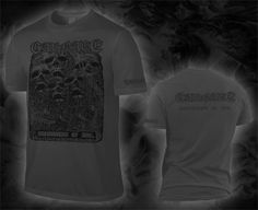 "CARNAGE ""infestation of evil"", dark grey T-Shirt"