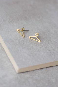 Lovoda - Clothes Hanger Earrings, $12.95 (http://www.lovoda.com/clothes-hanger-earrings/)