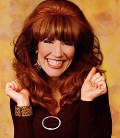 Katey Sagal as Peggy Bundy in Married With Children Peggy Bundy, Katey Sagal, Tv Moms, Nostalgia, Married With Children, Facts For Kids, Gene Simmons, Star Wars, Costume Wigs