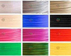 Wow! Amazing variety of 3d printer filament!