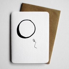 Congratulations  Pregnancy card  sperm and egg by 4four on Etsy, $4.00