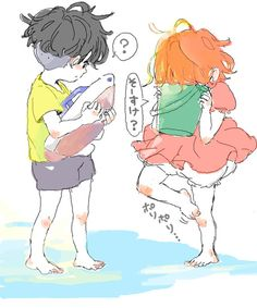 Sōsuke & Ponyo. Another one of my favorite movies :)