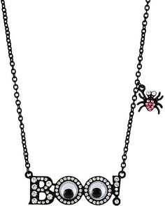 Halloween Boo! necklace Betsey Johnson