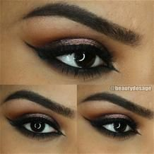 Graphic Smoky by @beautydosage I #eotd #graphiceye #smokyeye #Pampadour #makeup #beauty