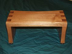 Child's dovetail bench