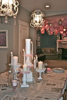 Valentine's Day Party. Ideas for decorations and fun couples games.