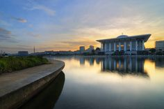 The Steel Mosque At Sunrise | Putrajaya, Malaysia