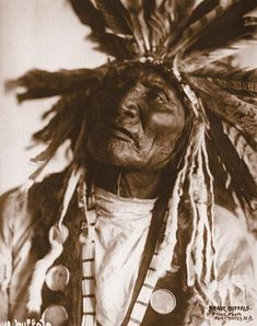 Brave Buffalo– Frank Fiske photo; True West archives –