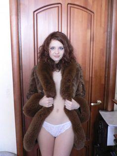 amateur photo Fur Coat