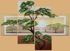 Print and mod podge pic onto canvas or paint on Cross Stitch Landscape, Cross Stitch Flowers, Scenery, Projects To Try, Wall Art, Canvas, Asia, Design Ideas, Painting