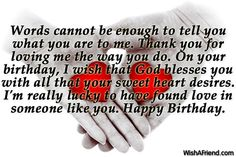 Heart Touching Happy Birthday Wishes For Boyfriend Greeting Card