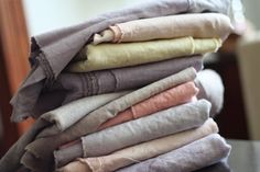 natural dyes - queen anne's lace, birch bark, madder, logwood [jenna rose journal]
