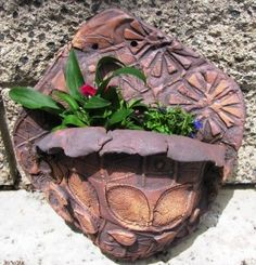 nature inspired planters