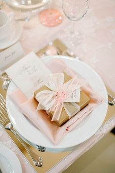 blush and gold wedding table settings Mod Wedding, Wedding Reception, Wedding Gifts, Dream Wedding, Wedding Day, Reception Ideas, Trendy Wedding, Pink And Gold Wedding, Blush And Gold