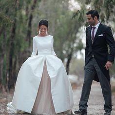 ❤️❤️❤️Tarde para un paseo ...❤️❤️❤️#atelier #couture #atelier #weddingdress #novias #bodas #fashion #rubenhernandez # @kiwo_estudio #