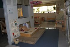 Reggio learning environment - live this blended use space