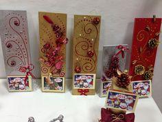 Christie's creations (Χειροποίητες κατασκευές) Christmas Deco, Christmas Time, Christmas Crafts, Xmas, Diy And Crafts, Crafts For Kids, Christmas Calendar, Holidays And Events, Decoupage