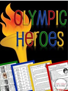 Looking to incorporate more Olympics activities into your classroom? This is a unit that your students will love! It is a great way to teach your students about Olympic heroes. Olympic Heroes included in this unit are:-Bonnie Blair-Alice Coachman-Nadia Comaneci-Ray Ewry-David Hemery-Jackie Joyner-Kersee-Francina Koen-Larisa Latynina-Carl Lewis-Paavo Nurmi-Jesse Owens-Michael Phelps-Steve Redgrave-Mark Spitz-Jim Thorpe-Emile Zatopek This unit contains:-Fact Cards for each of the featured…